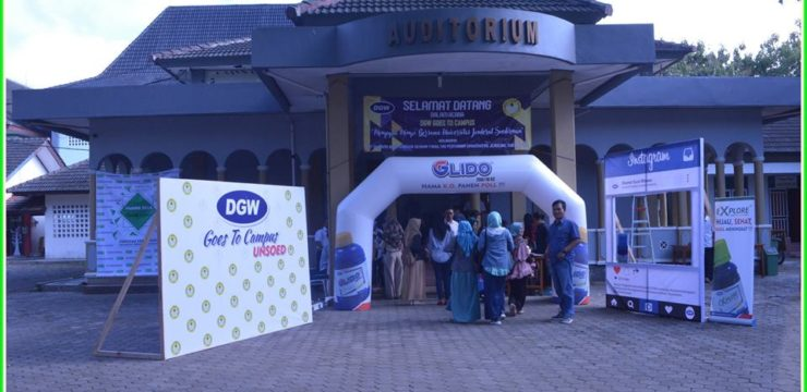 DGW GOES TO CAMPUS FAPERTA UNSOED