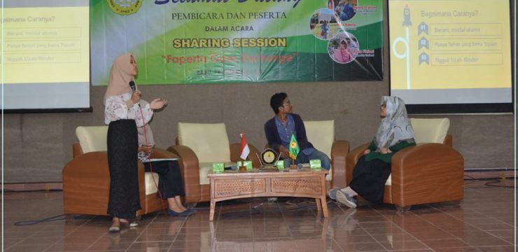 "Faperta Gelar Sharing Session ""FAPERTA GOES EXCHANGE"""