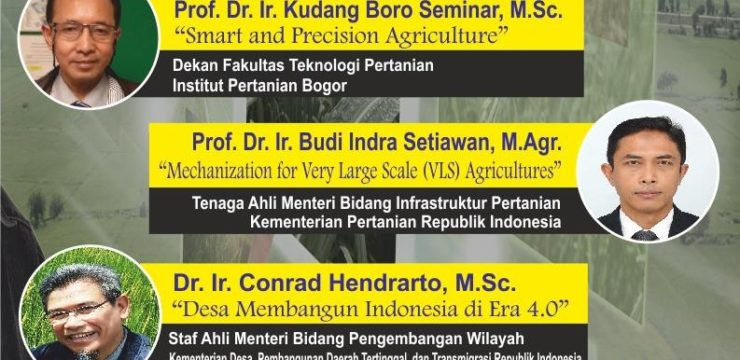 "GENERAL LECTURE ""THE ROLE OF AGRICULTURAL ENGINEERING IN AGRICULTURE 4.0"""